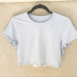 Aritzia TNA Crop Tee Shirt